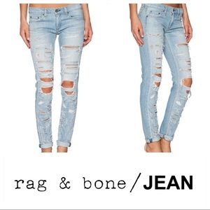 Rag & bone Jeans The Dre Boyfriend Skinny 28 NWT